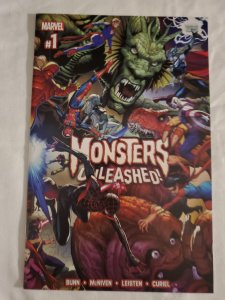Monsters Unleashed 1 Near Mint- Cover by Steve McNiven