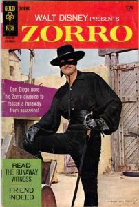 Zorro, Walt Disney Presents #7 (Sep-67) VF+ High-Grade Zorro