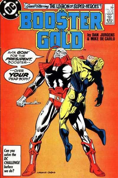 Booster Gold (1986 series) #9, NM (Stock photo)