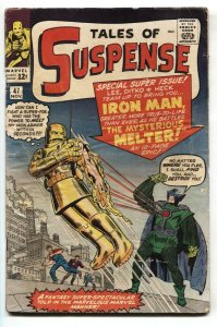 Tales Of Suspense #47 comic book 1963-Marvel-Iron Man-Mysterious Melter Ditko G