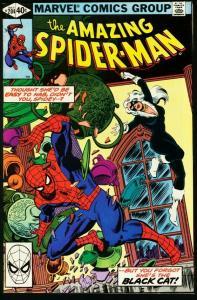 AMAZING SPIDER-MAN #204-1980-BLACK CAT-MARVEL FN/VF