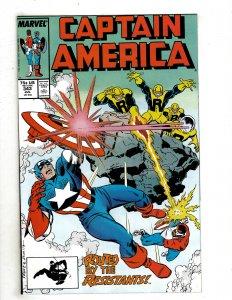 Captain America #343 (1988) SR17