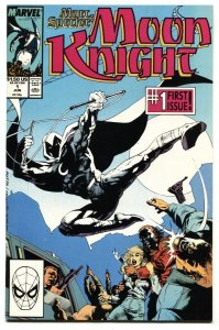 MOON KNIGHT #1 comic book-1st issue 1989 NM-