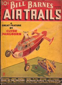 Bill Barnes Air Trails 10/1935-title change-hero air pulp-Tinsley-G