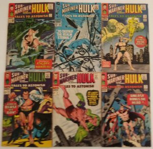 Tales To Astonish Comic Book Lot of (6) Silver Age Marvel CL#02