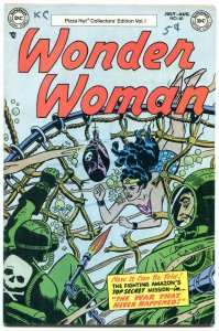Wonder Woman #60 1977- Pizza Hut reprint- Frogman cover VG
