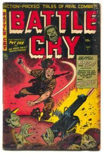 Battle Cry #13 1954-Wolf Pack- Korean War VG