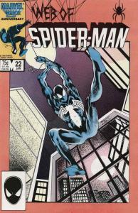 Web of Spider-Man, The #22 VF/NM; Marvel | save on shipping - details inside
