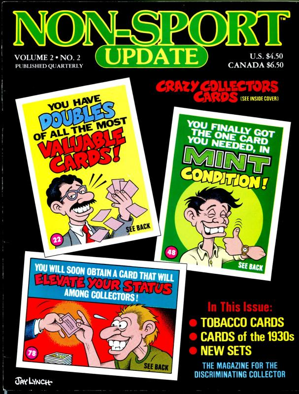 Non-Sport Update 4/1991-Jay Lynch-info for non-sports card collectors-FN