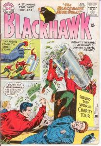 BLACKHAWK 207 GOOD   April 1965 COMICS BOOK
