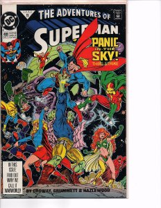 Dc Comics Adventures of Superman #488 and 497 Doomsday Death of Superman