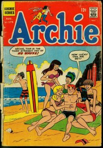 ARCHIE COMICS #175-BETTY/VERONICA/JUGHEAD/ETC FR/G