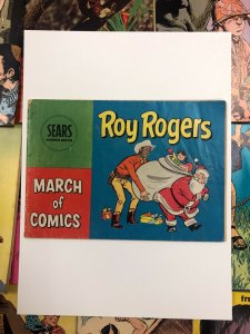Sears March of Comics, Roy Rogers VG-/VG christmas special #91 1952 golden age