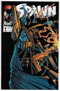 Spawn #7 Todd McFarlane (Image, 1993) FN/VF