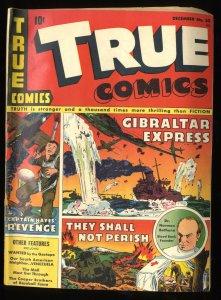 True Comics #30 VG- 3.5