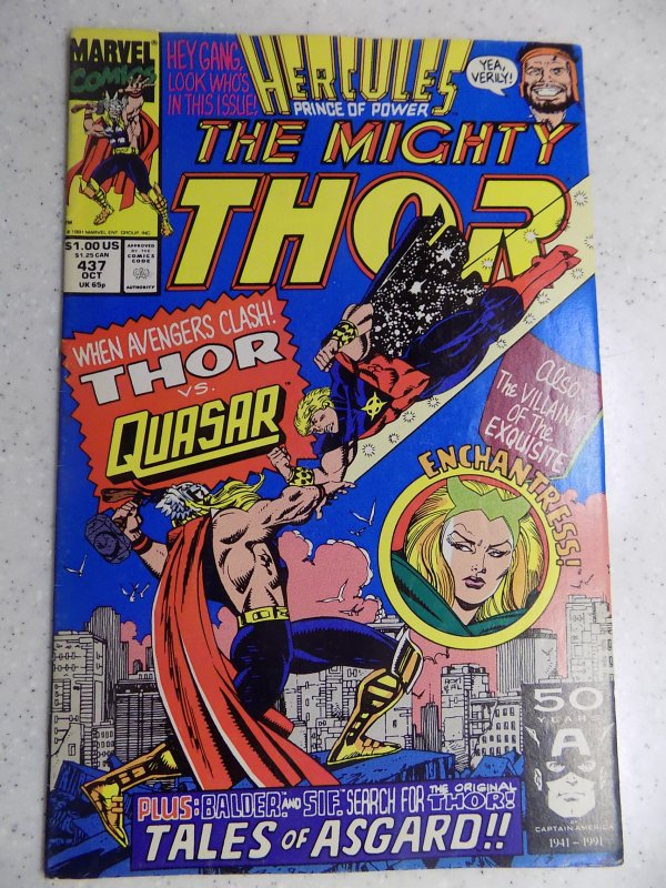 MIGHTY THOR # 437