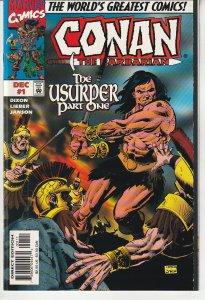 Conan the Barbarian: The Usurper #1 (1997)
