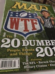 Mad Magazine #531 20 Dumbest 2014 Mint