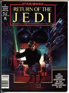Marvel Super Special #27 VF/NM 1983-STAR WARS RETURN OF THE JEDI