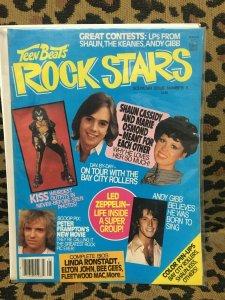 TEEN BEAT ROCK STARS MAGAZINE #5 APRIL 1978 KISS Frampton Gibb Zeppelin