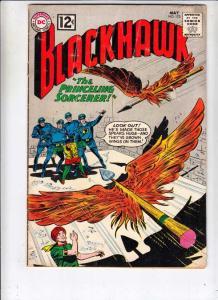 Blackhawk #172 (May-62) FN- Mid-Grade Black Hawk, Chop Chop, Olaf, Pierre,Chu...