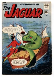 Adventures Of The Jaguar #11 1963- The Fly- Silver Age VG+
