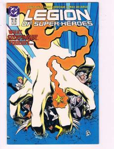 Legion Of Superheroes #40 VF DC Comics Comic Book Levitz 1987 DE13