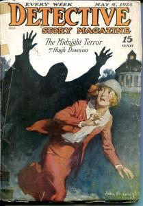 DETECTIVE STORY MAGAZINE-MAY 9 1925-DAWSON-WALLACE-DUTTON-good G