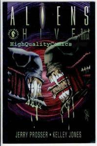 ALIENS HIVE #3, NM+, Horror, Kelley Jones, Sci-Fi, Space, 1992, more in store