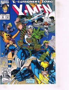Lot Of 2 Marvel Comic Books X-Men #16 and X-Men #37 Ironman Thor  ON6