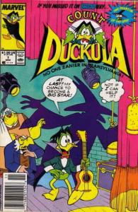 Count Duckula #7 (Newsstand) VF/NM; Marvel | save on shipping - details inside