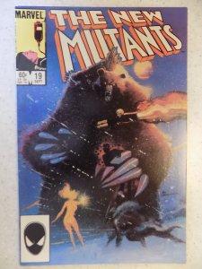 NEW MUTANTS # 19 SECOND DEMON BEAR