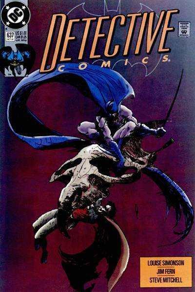 Detective Comics (1937 series) #637, VF+ (Stock photo)