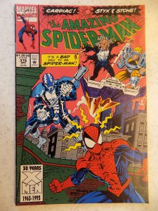 AMAZING SPIDER-MAN # 376 MARVEL ACTION ADVENTURE