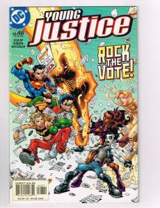 Young Justice # 46 DC Comic Books Hi-Res Scans Modern Age Awesome Issue WOW!! S8