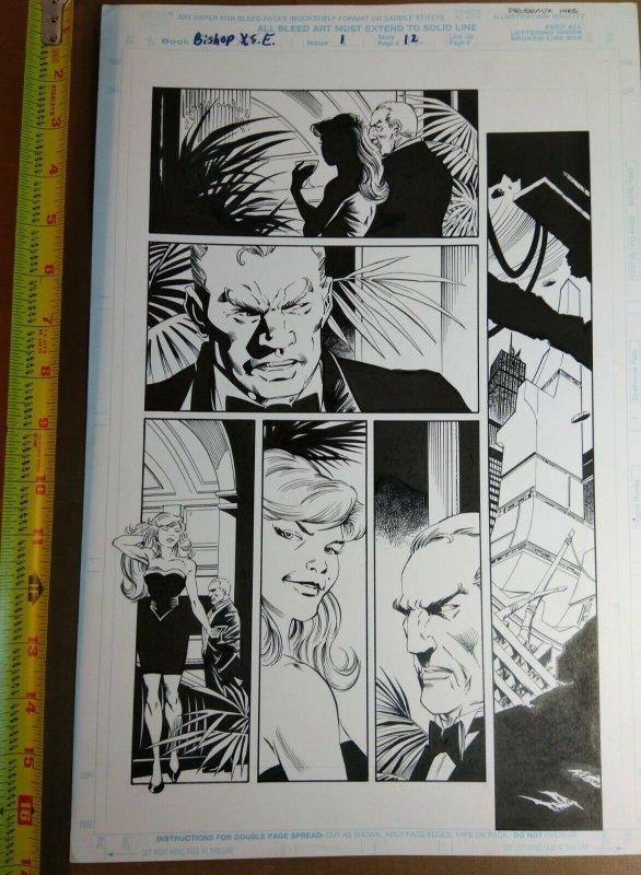 Original Art: Steve Epting & Mark Prudeaux - Bishop X.S.E. #1 pg 12