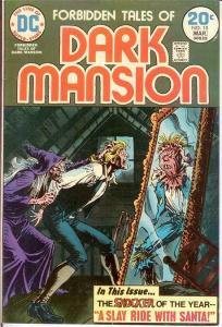 FORBIDDEN TALES OF THE DARK MANSION 15 F-VF  Mar. 1974 COMICS BOOK