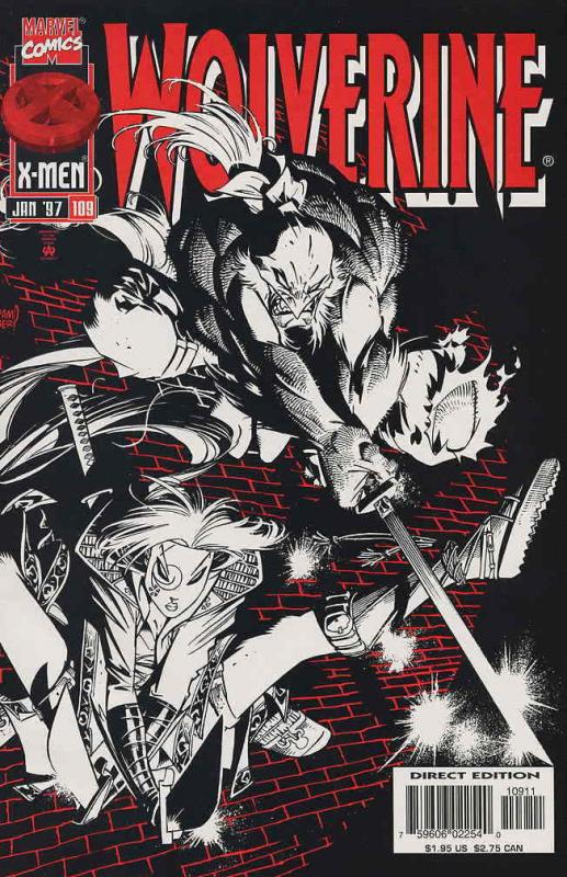 Wolverine #109 VF/NM; Marvel | save on shipping - details inside