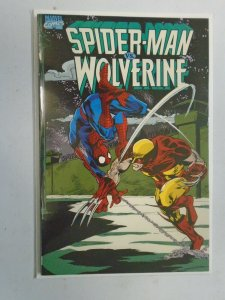 Spider-Man vs. Wolverine GN #1 1st Printing 6.0 FN (1990 2nd Edition)