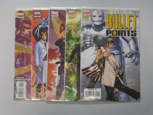 Bullet Points (Marvel) Set:#1-5, 8.0/VF (2006)