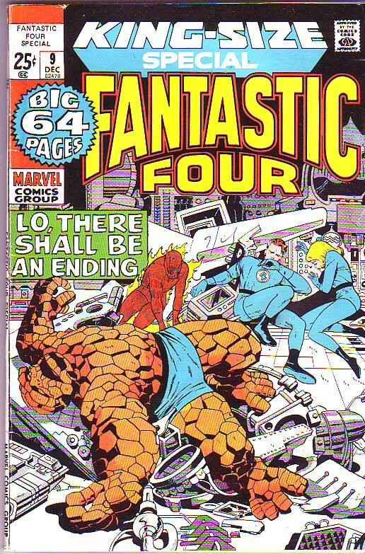 Fantastic Four King-Size Special #9 (Dec-71) VF High-Grade Fantastic Four, Mr...