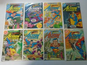 Action Comics lot 20 different from #490-509 avg 6.0 FN (1978-80)
