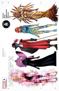 WAY OF X #3 QUINN CHARACTER DESIGN VARIANT