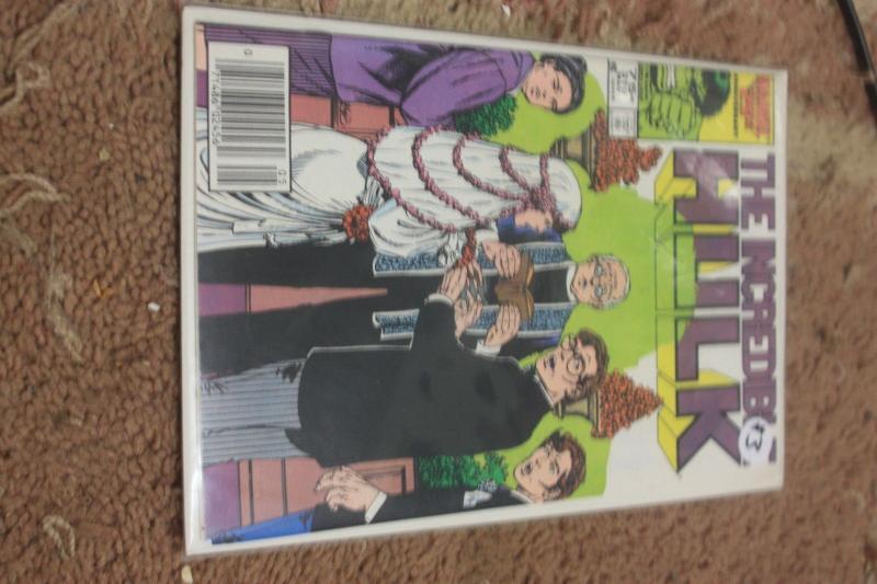 Incredible Hulk  # 319 1986, Marvel bruce banner marries betty   john byrne