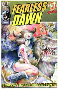 FEARLESS DAWN - Jurassic Jungle Boogie Nights  #1,  NM, Steve Mannion, 2013