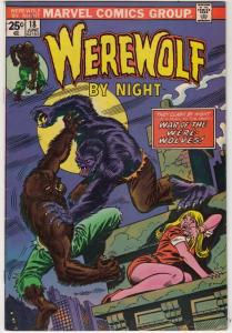 Werewolf by Night #18 (Jun-74) VF/NM High-Grade Werewolf