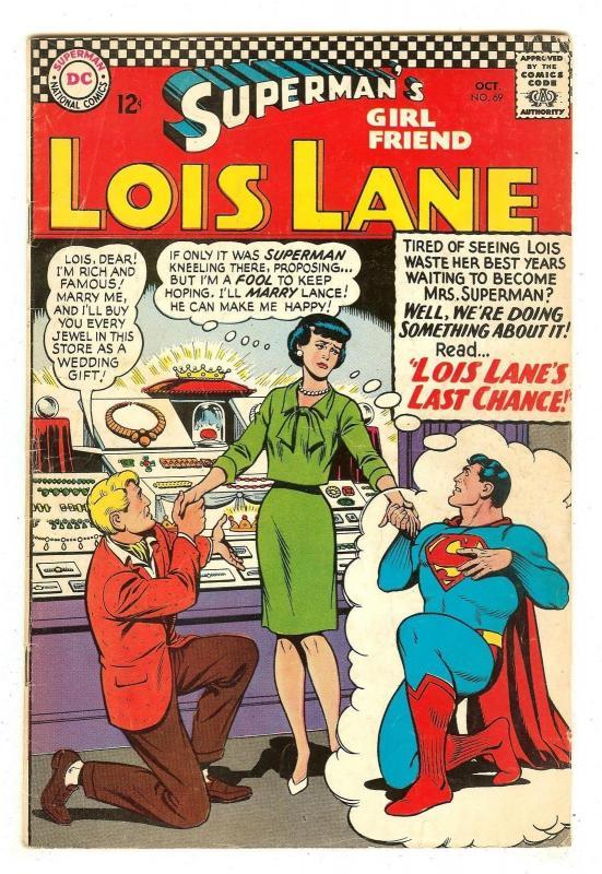 Superman's Girlfriend Lois Lane 69