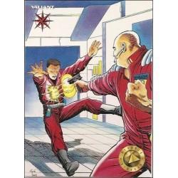 1993 Valiant Era H.A.R.D. CORPS #3 - Card #115