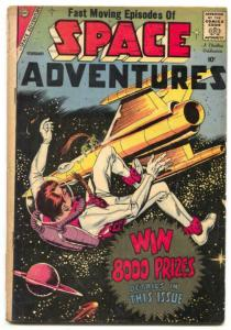 Space Adventures #27 1959-Charlton comics -Steve Ditko- VG-