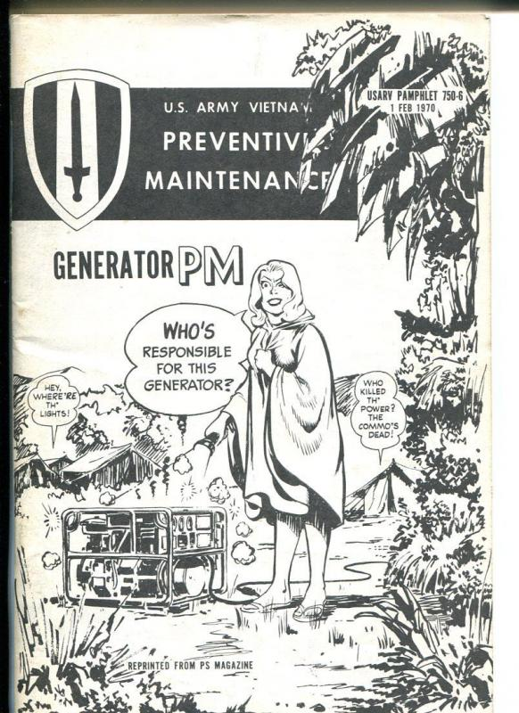 Preventive Maintenance Monthly #750-6 1969-Good Girl Art-Will Eisner-FN